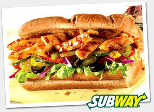 Subway tuesday offer